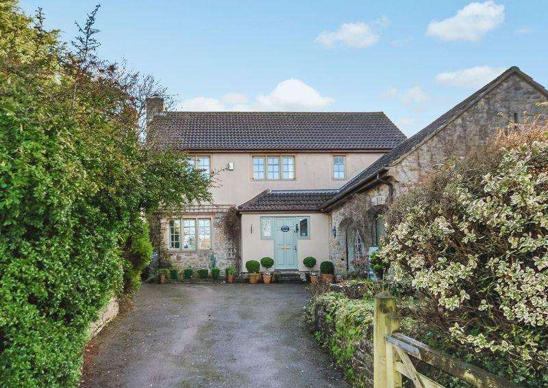4 Bedrooms Detached House for sale in Quiet setting in Wedmore