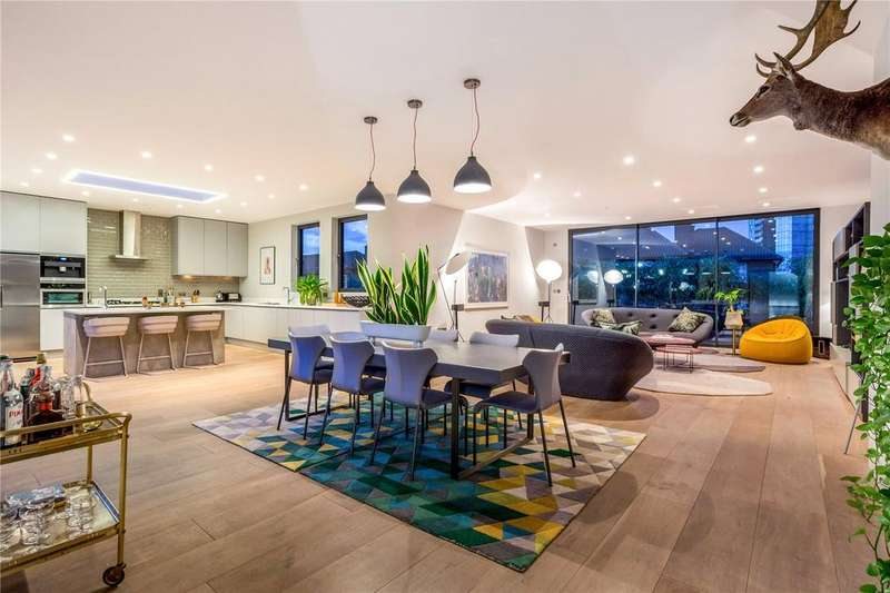 4 Bedrooms Penthouse Flat for sale in Calvin Street, Spitalfields, Shoreditch, E1