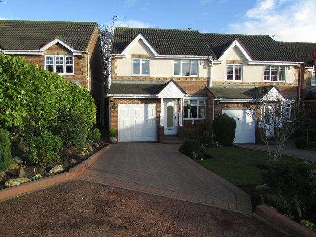3 Bedrooms Semi Detached House for sale in HART PASTURES, HART VILLAGE, HARTLEPOOL