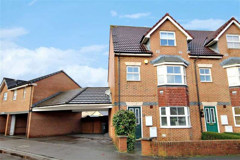 4 Bedrooms End Of Terrace House for sale in St Austell Way, Churchward, Swindon