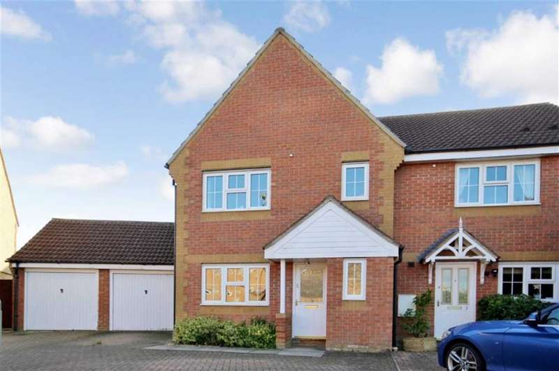 3 Bedrooms Semi Detached House for sale in Century Close, Faringdon, Oxfordshire