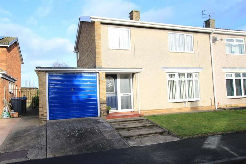 3 Bedrooms Semi Detached House for sale in Mellanby Crescent, Newton Aycliffe