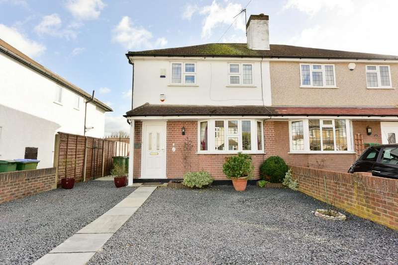 3 Bedrooms Semi Detached House for sale in First Avenue, WALTON ON THAMES KT12