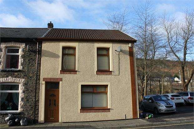 3 Bedrooms End Of Terrace House for sale in Margaret Street, Ferndale, Pontygwaith, Rhondda Cynon Taff. CF43 3EH