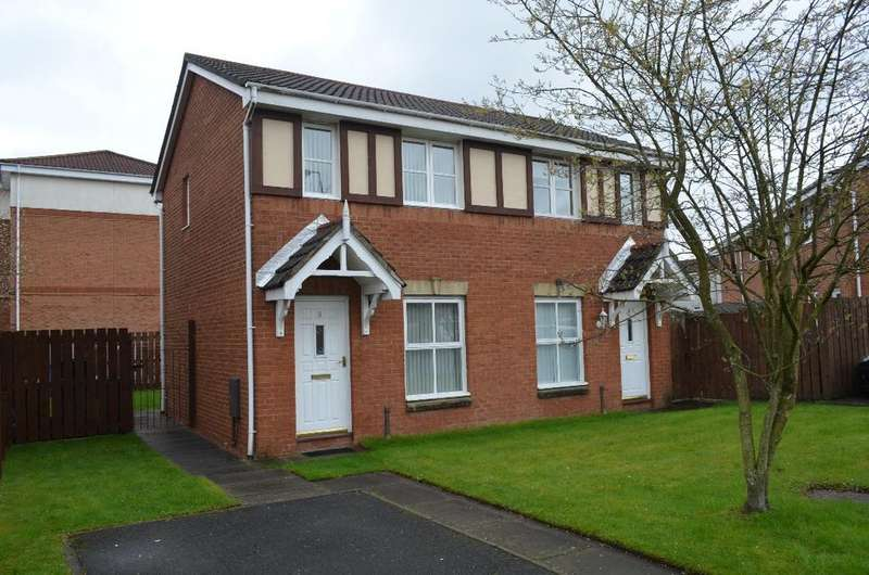 2 Bedrooms Semi Detached House for rent in Sir William Wallace Court, Larbert, Stirling, FK5 4GA