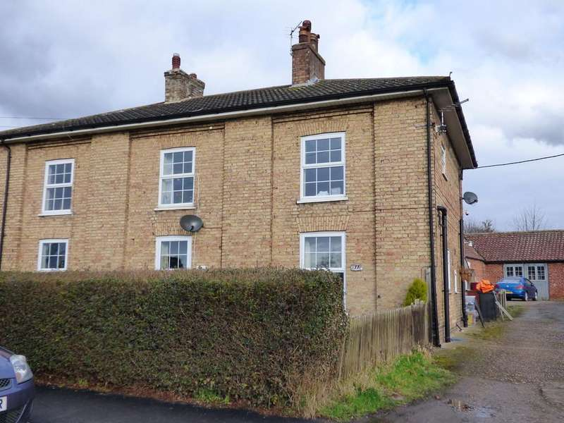 2 Bedrooms End Of Terrace House for rent in Main Street, Kirmington, DN39 6YW
