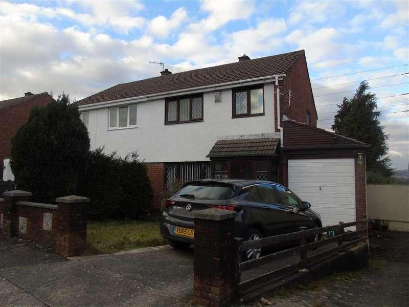 3 Bedrooms Semi Detached House for sale in Heol Pentyla, Llansamlet, Swansea