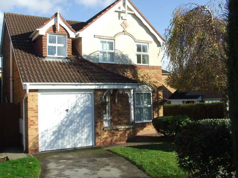 3 Bedrooms Detached House for rent in Northwood Drive, Hessle