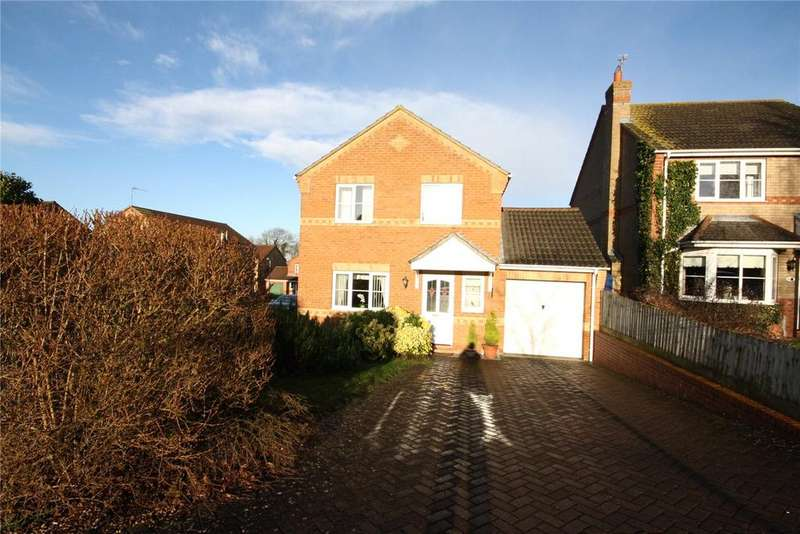 4 Bedrooms Detached House for sale in Woodside, Branston, Lincoln, Lincolnshire, LN4