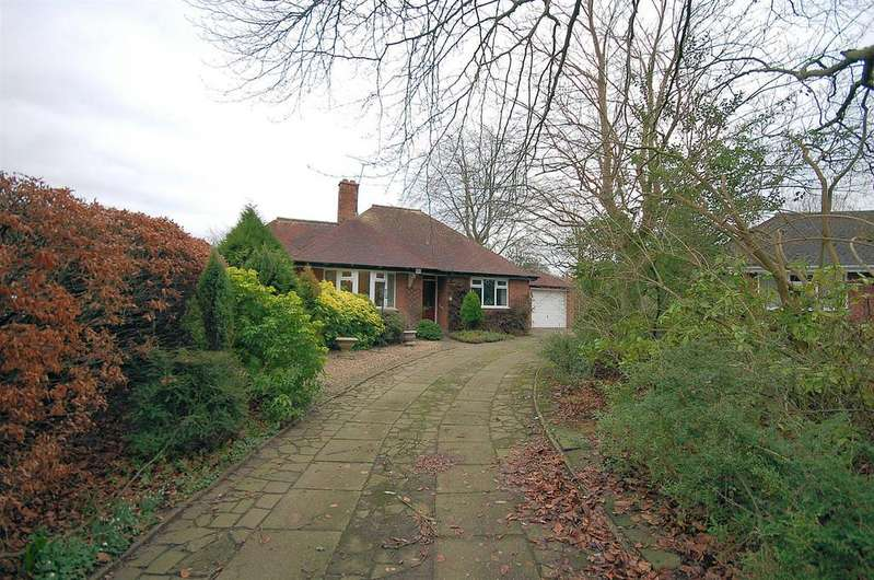 3 Bedrooms Detached Bungalow for sale in Brookfield Drive, Alsager