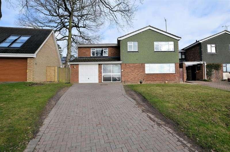 4 Bedrooms Detached House for sale in Mandeville Close, Tilehurst, Reading