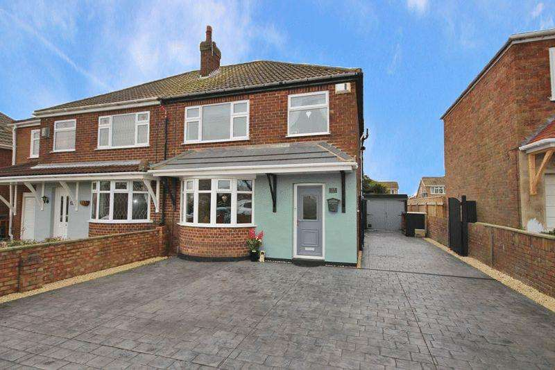 3 Bedrooms Semi Detached House for sale in PEARSON ROAD, CLEETHORPES