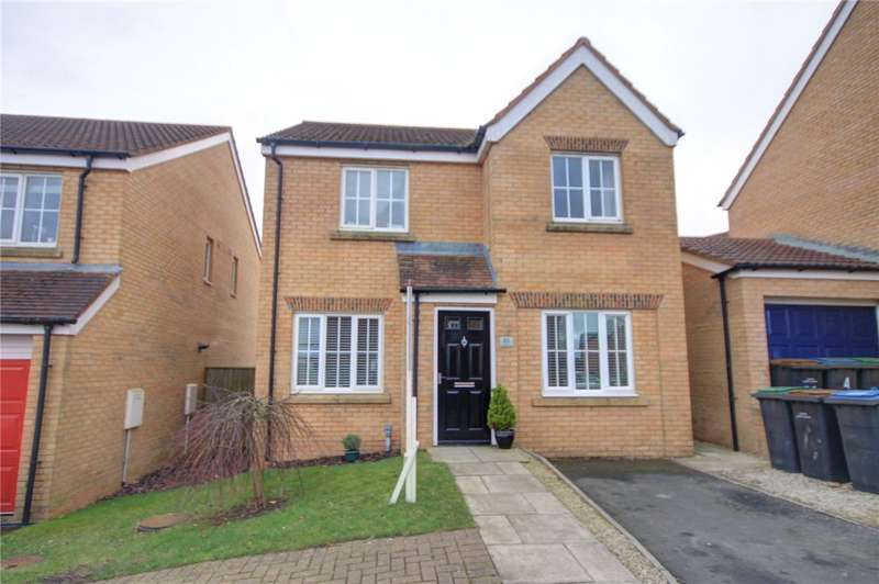 4 Bedrooms Detached House for sale in Meadowfield, Burnhope, Durham, DH7