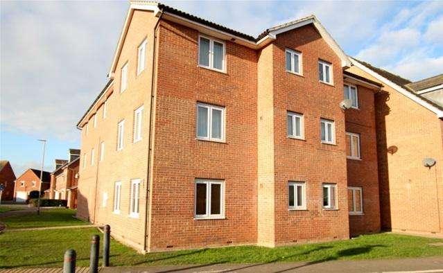 2 Bedrooms Flat for sale in Cavalier Close, Bridgwater