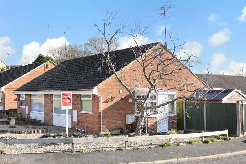 2 Bedrooms Semi Detached Bungalow for sale in Heath Drive, Frome