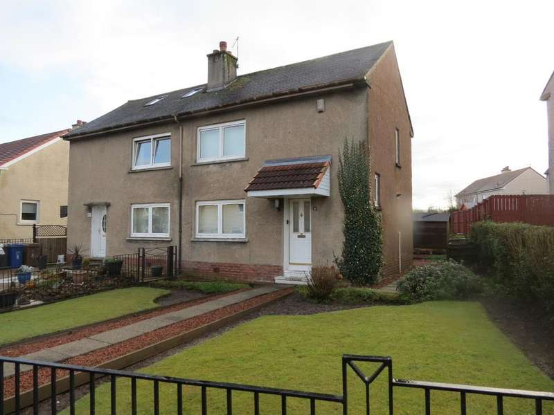 2 Bedrooms Semi Detached House for sale in Durward Way, Paisley PA2