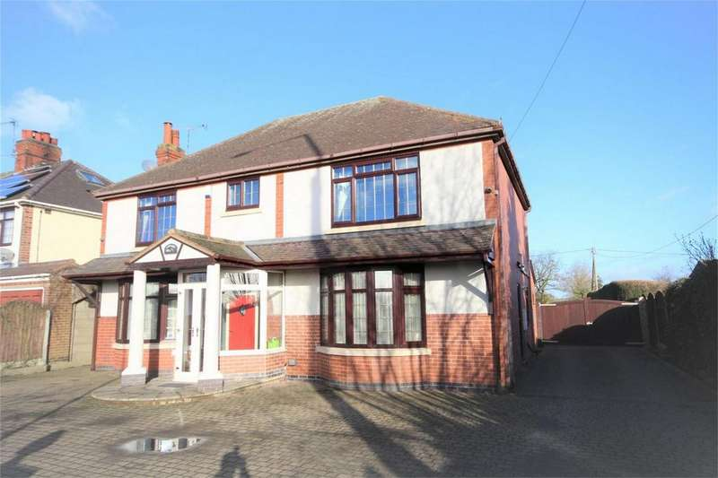 4 Bedrooms Detached House for sale in Watling Street, Nuneaton, Warwickshire