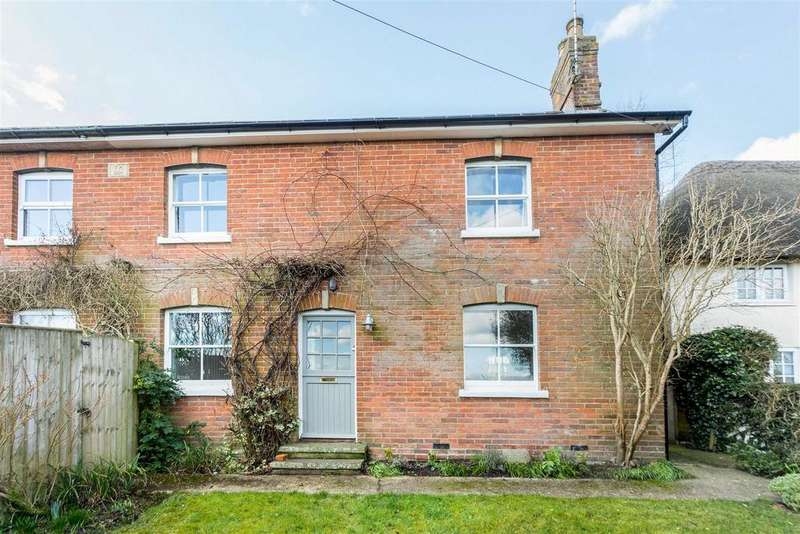 3 Bedrooms Semi Detached House for sale in Vine Cottage, Beechingstoke, Pewsey