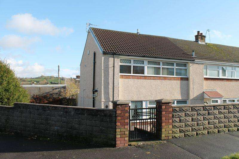 3 Bedrooms End Of Terrace House for rent in Moorland Crescent, Beddau, CF38 2DW