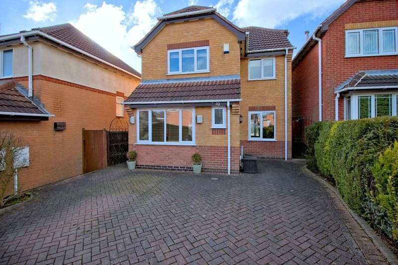 3 Bedrooms Detached House for sale in Loweswater Grove, Ashby-de-la-Zouch