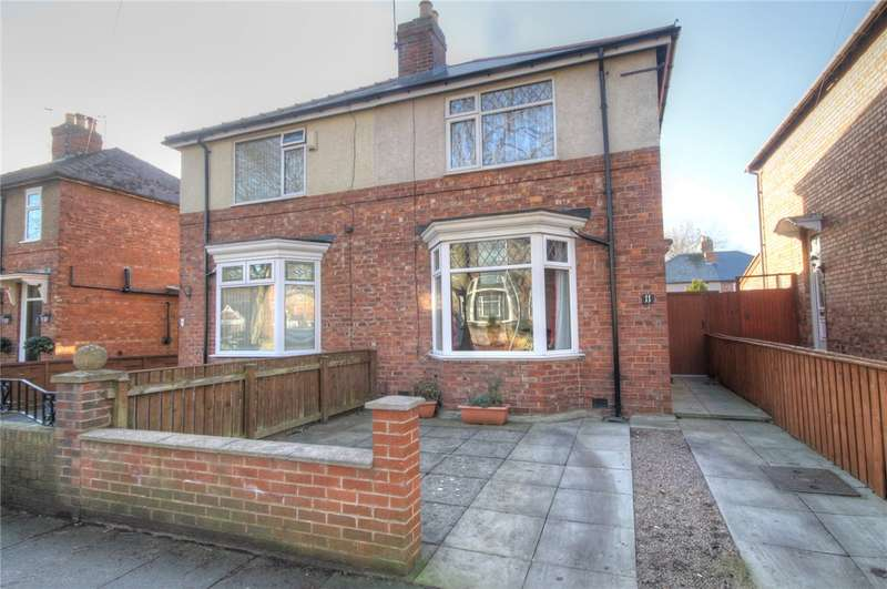 2 Bedrooms Semi Detached House for sale in Middleham Road, Darlington, County Durham, DL1