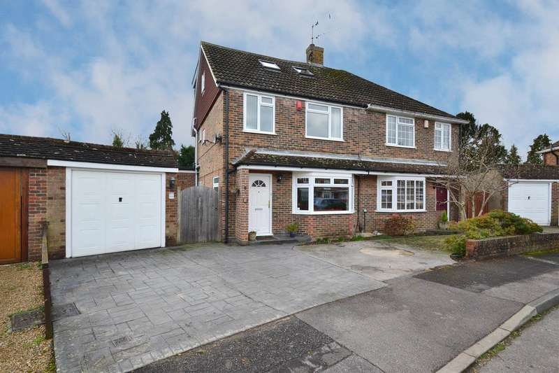 3 Bedrooms Semi Detached House for sale in The Coronet, Horley