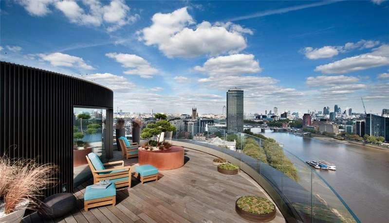 5 Bedrooms Flat for sale in Riverwalk, 157-161 Millbank, Westminster, London, SW1P