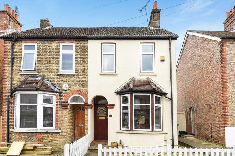 2 Bedrooms Semi Detached House for sale in Gladstone Road Orpington BR6