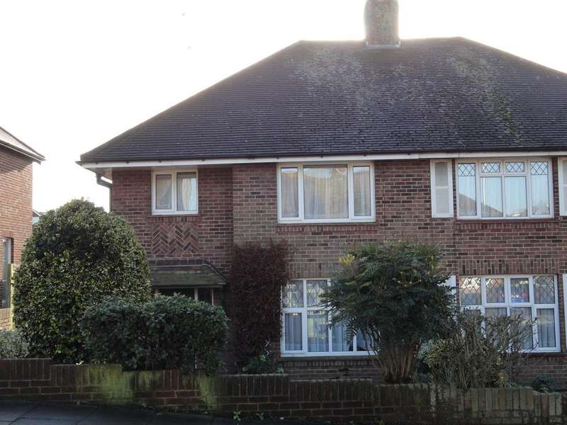 3 Bedrooms Semi Detached House for sale in Queen Victoria Avenue, Hove BN3