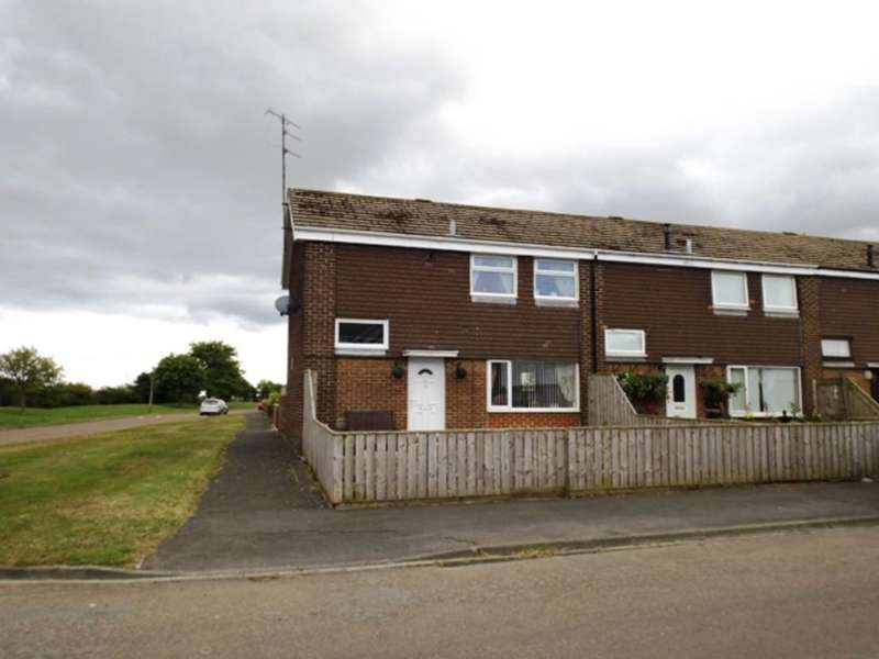 2 Bedrooms End Of Terrace House for sale in Glendale Amble Morpeth Northumberland