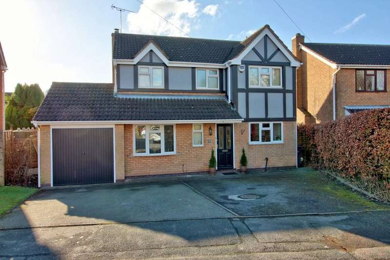 4 Bedrooms Detached House for sale in Orchard Close, Ravenstone