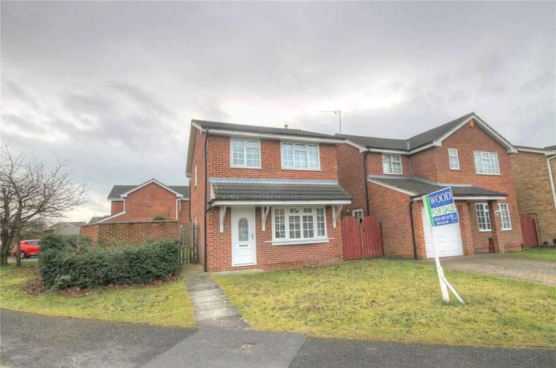 3 Bedrooms Detached House for sale in Girton Walk, Darlington, County Durham, DL1