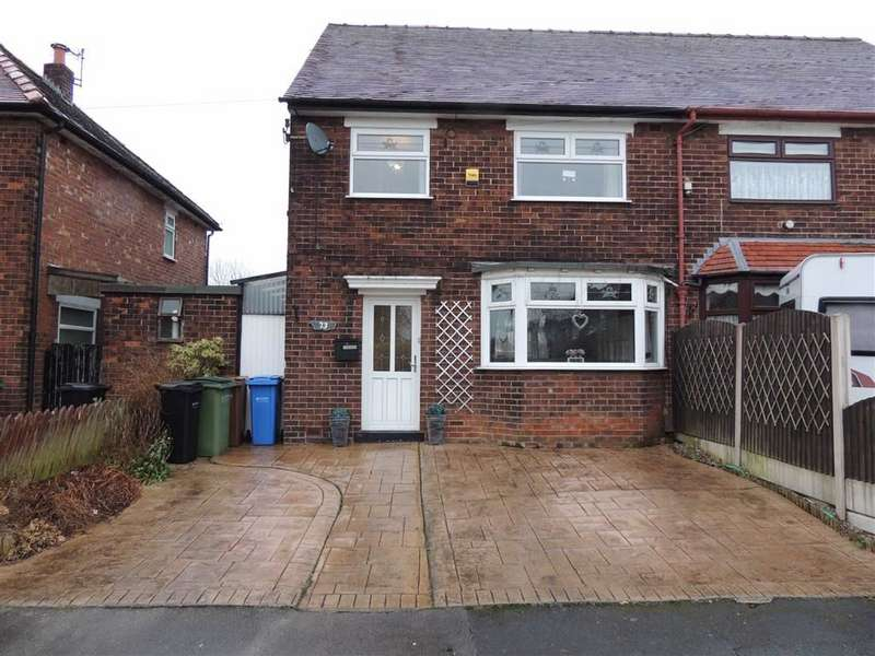 3 Bedrooms Semi Detached House for sale in Bideford Road, Offerton, Stockport
