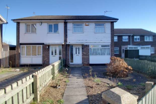 3 Bedrooms Semi Detached House for sale in Shinwell Crescent, Middlesbrough, Cleveland, TS6 6LJ