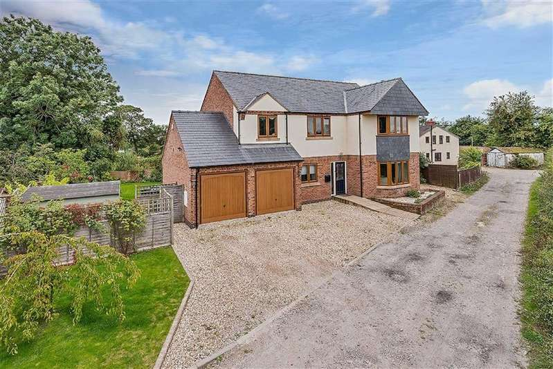 5 Bedrooms Detached House for sale in Fir Field Lane, Maesbury Marsh