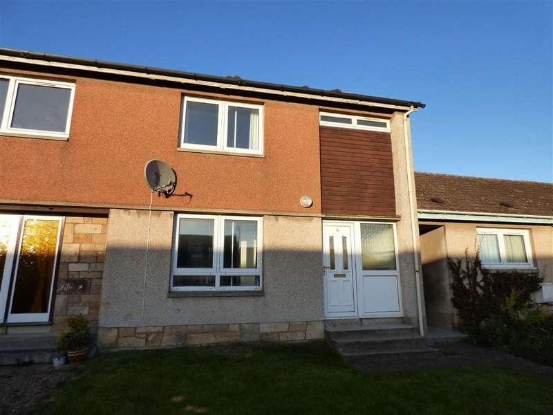 2 Bedrooms Terraced House for sale in Burnside, Balmullo, Fife