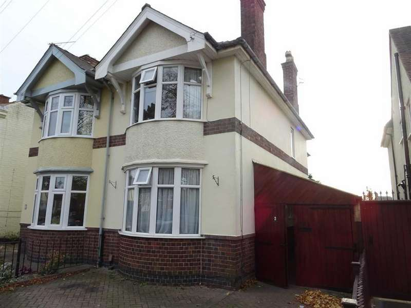 2 Bedrooms Semi Detached House for sale in Derby Road, Hinckley