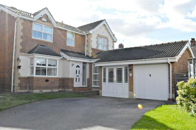 4 Bedrooms Detached House for sale in Barnett Place, Cleethorpes, North East Lincolnshire, DN35