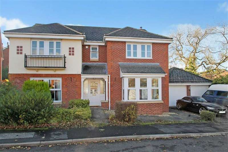 5 Bedrooms Detached House for sale in Bentley Drive, Oswestry