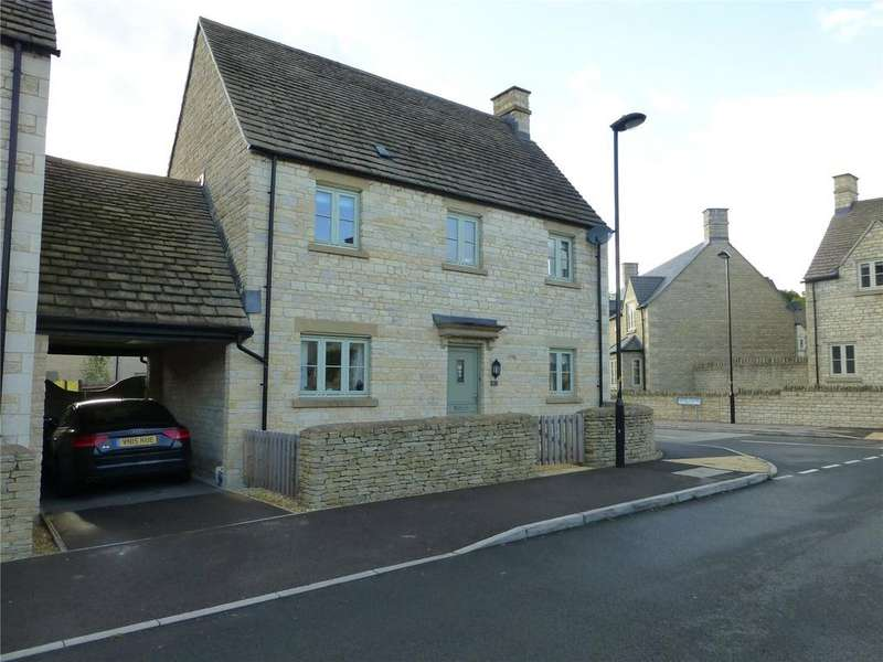 4 Bedrooms Detached House for sale in Moss Way, Cirencester, GL7