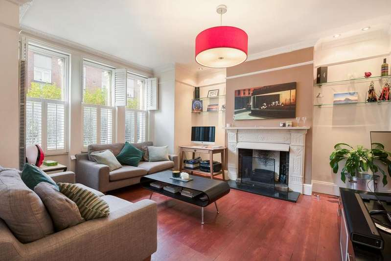 2 Bedrooms Flat for sale in LATCHMERE ROAD, SW11