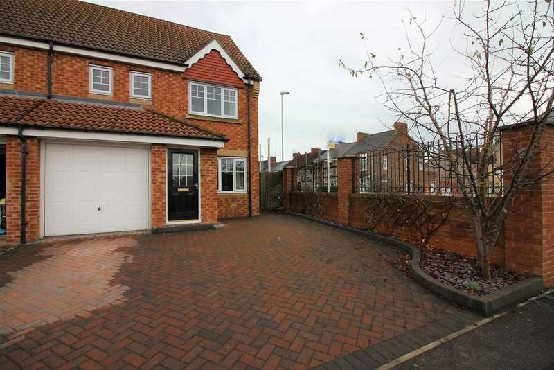 4 Bedrooms Semi Detached House for sale in Appleby Close, Darlington