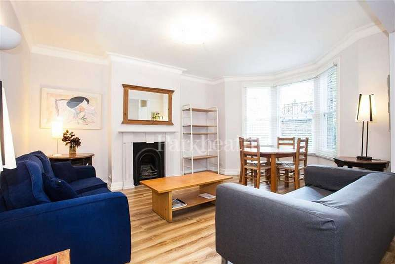 2 Bedrooms Flat for sale in Kingsgate Road, West Hampstead, London