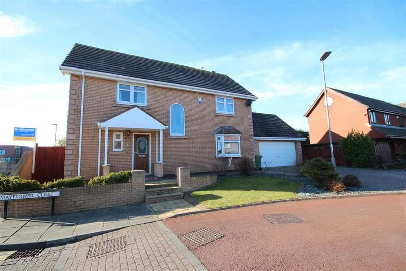 4 Bedrooms Detached House for sale in Mayflower Close, Marina, Hartlepool
