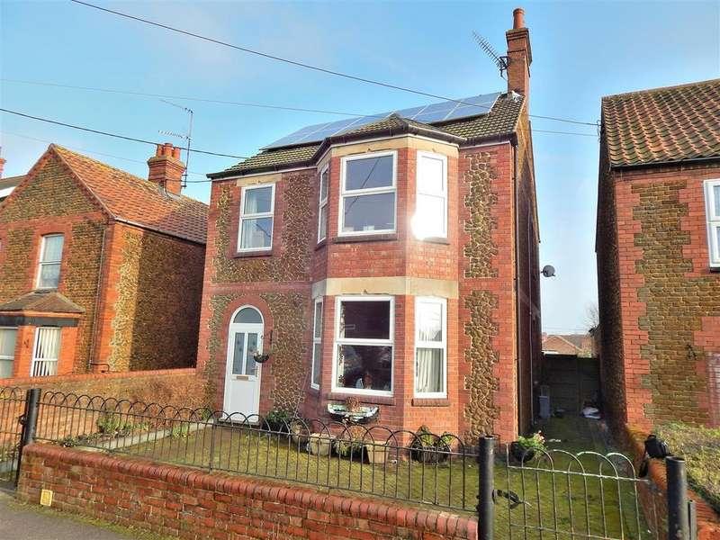4 Bedrooms Detached House for sale in Poplar Avenue, Heacham, King's Lynn