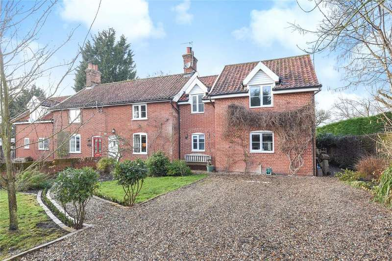 4 Bedrooms Semi Detached House for sale in Ashwellthorpe Road, Wreningham, Norwich