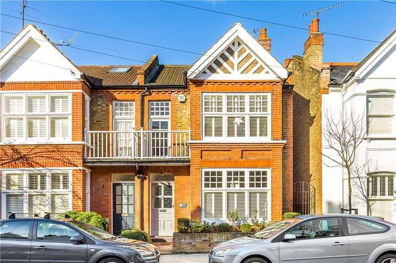 5 Bedrooms Semi Detached House for sale in Napoleon Road, Richmond, Twickenham, TW1