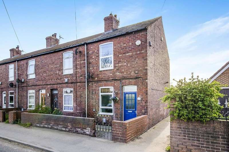2 Bedrooms Terraced House for sale in Church Row Doncaster Road, Whitley, Goole, DN14