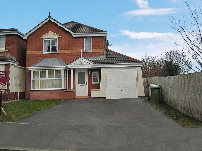 4 Bedrooms Detached House for rent in Youghal Close, Pontprennau, Cardiff