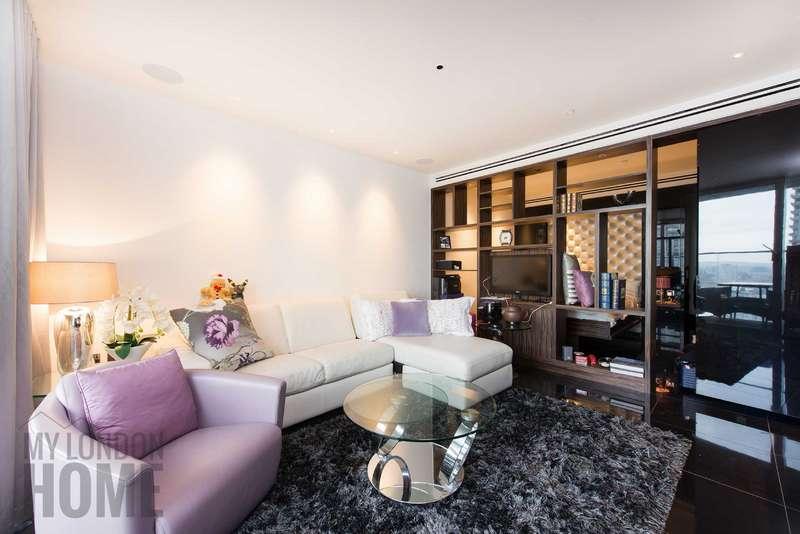 Apartment Flat for rent in The Heron, Silk Street, Moorgate, London, EC2Y